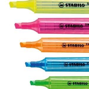 Image 5 - 8 Stuks Duitse Stabilo Cool Kleur Markeerstift 275 Draagbare Leuke Student Kantoor Marker Marker Is Niet Gemakkelijk Te Drogen