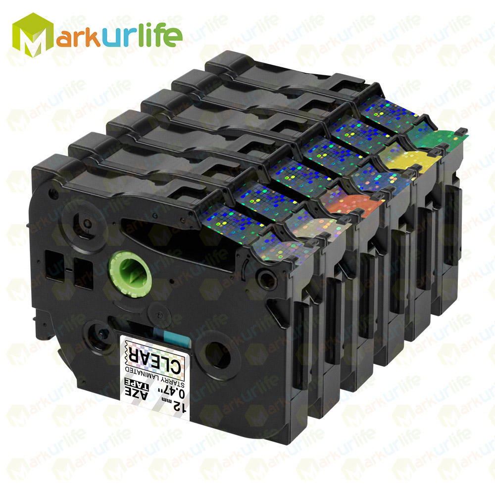 Neu Etikett-Band Kompatibel für Brother Tz P-Touch Tze131 Tze731 Tze531 Usw