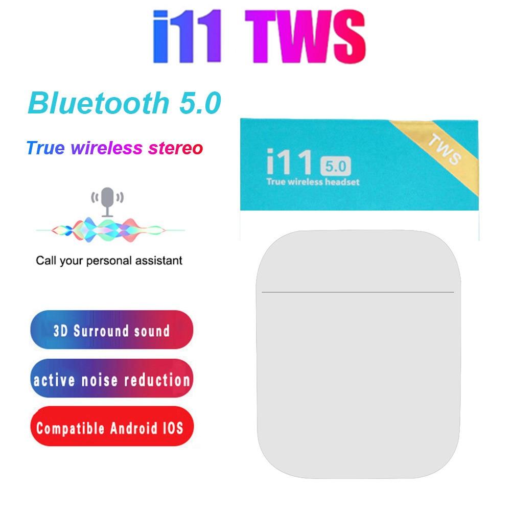Купить новинка 2021 беспроводная гарнитура i11 tws bluetooth 50 наушники