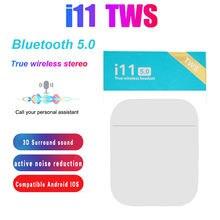 Новинка 2021 беспроводная гарнитура i11 tws bluetooth 50 наушники