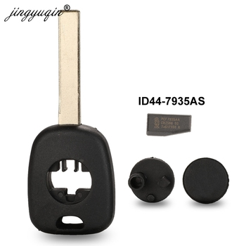 jingyuqin Replace Car Transponder Chip ID44 Key Shell Case Fob For BMW 3 5 6 series X3 X5 Z4 Z8 for E36 E34 E38 E39 HU92 Blade image