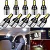 W5W T10 samochodowa żarówka Led wewnętrzna lampka dla BYD wszystkie modele S6 S7 S8 F3 F6 F0 M6 G3 G5 G7 E6 L3 12V 6000k biały lampa samochodowa