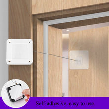 Self-adhesive Automatic Door-closing Device Punch-free Home Door and Window Automatic Closure Door Closer Punch-Free Automatic