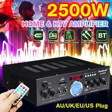 Home Theater Amplifiers bluetooth Home Power Amplifier Audio Stereo AV-505AT 110-220V AMP Mixer USB FM