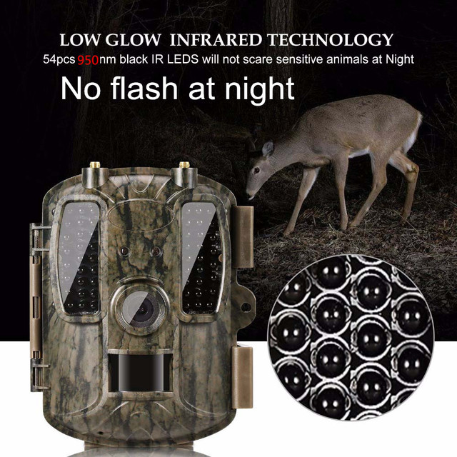 Photo Trap Hunting camera 4G With 8000mah Solar Panel HD Video GPS Wildlife Trail Camera BL480L-P 5