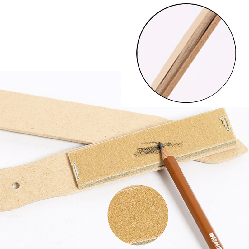 Professional Art Painting Sandpaper Block For Pencil Sharpening Sketch Sandpaper Pencil Pointer Drawing Tool School Supplies