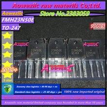Aoweziic 2019 + 100% novo importado original fmh23n50e 23n50e para 247 mos tubo n canal 23a500v é frequentemente usado na fonte de alimentação