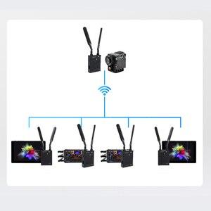 Image 2 - Feidu fwt 200pro 4 18kデュアルhdmiワイヤレス伝送 2106 30 60hzのhd画像ビデオキヤノン、ソニーのデジタルカメラpk hollyland