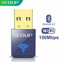 EDUP 150Mbps USB WIFI Adapter 2,4 Ghz BluetoothWireless Mini WiFi Empfänger Wi-Fi USB Ethernet Netzwerk Karte für PC Laptop desktop