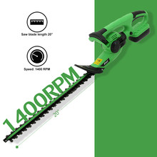 ET1305 Rechargeable 18V Electric Hedge Trimmer Cordless Shear Grass Electric Lawn Mower Garden Tools with 14mm Tooth Space(China)