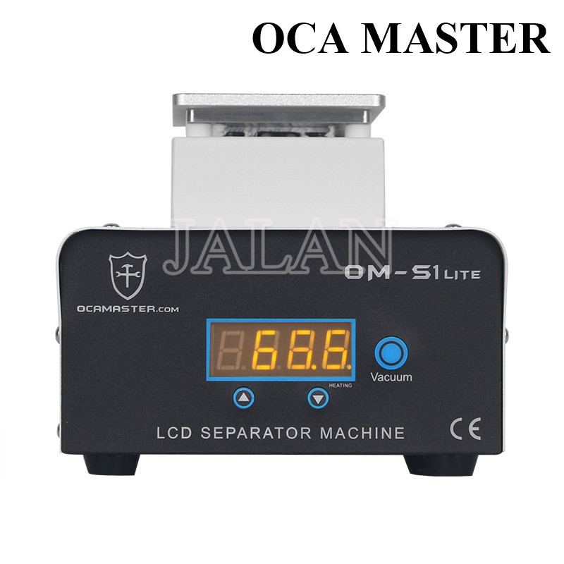 OCA Master 7inch Heating Lcd Separate Machine Glass Lcd Display Separating Glue Cleaning Tool Built In Pump Strong Power