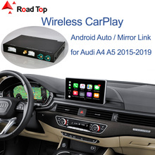 Wireless Apple CarPlay Android Auto Interface for Audi A4 A5 2016-2019, with Mirror Link