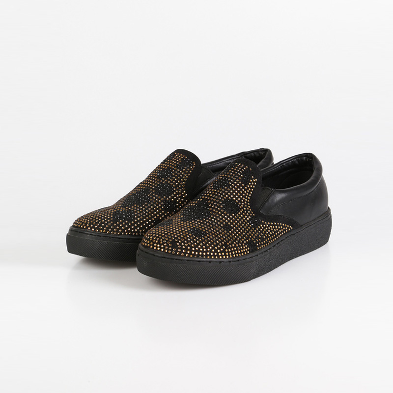 Queen Helena Sneakers Basse Con Strass