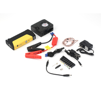 K16 12000MAH Automobile Car Jump Starter Booster Multifunctional Vehicle Emergency Power Bank Battery Charger