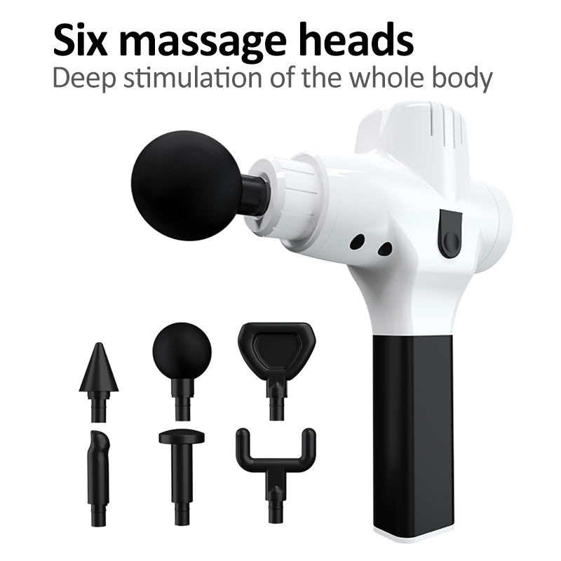 Electronic Muscle Massage Gun High Frequency Vibration Massage Gun Body Relaxation Pain Relief Shaping Massager 2019 TSLM1