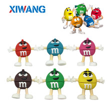 XIWANG cartoon creative m & usb flash drive high-speed 2.0 4GB 8GB 16GB 32GB 64GUSB high-capacity key chain personalized gifts