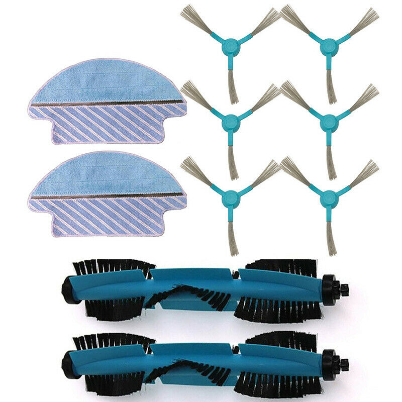 Filter Mesh Main Side Brushes for Conga 3090 Vacuum Cleaner Replacement Parts in Vacuum Cleaner Parts from Home Appliances