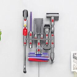 Para dyson v7 v8 v10 v11 parte unidade de armazenamento rack montagem na parede cabide cozinha banheiro escova suporte ferramenta