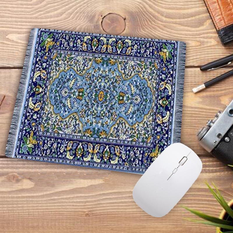 Image 5 - Big Promotion Waterproof Persian carpet rubber non slip laptop gaming Small mouse pad for CSGO dota LOL 220*180*2mm-in Mouse Pads from Computer & Office