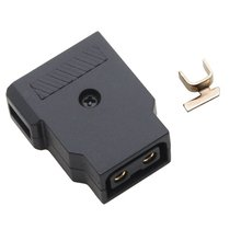цены D-Tap Male Plug Power Supply Connector for BMCC BMPCC Camera DIY DSLR Rig Power Cable V-mount Anton Bauer Battery