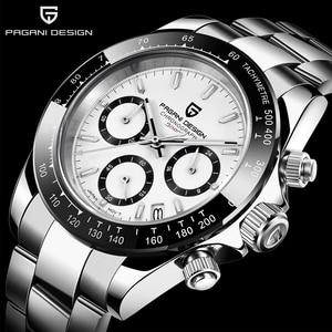 PAGANI DESIGN 2020 marque hommes sport Quartz chronographe montre de luxe hommes imperméable à l'eau nouvelle mode montre pour hommes Relogio Masculino