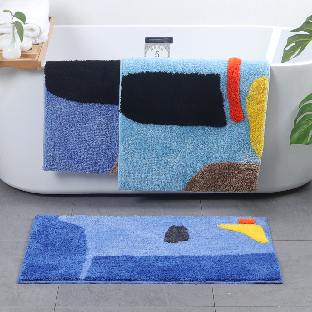Home Practical Anti Slip Mat Rug Bathroom Non-Slipping Mats Rug Shower Carpet Pad For Bathroom Kitchen Slip-Resistant Pad Carpet