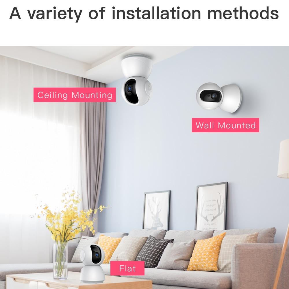 H58c4f68b2b36481583d3c560d9a8ad30t SDETER 1080P 720P IP Camera Security Camera WiFi Wireless CCTV Camera Surveillance IR Night Vision P2P Baby Monitor Pet Camera