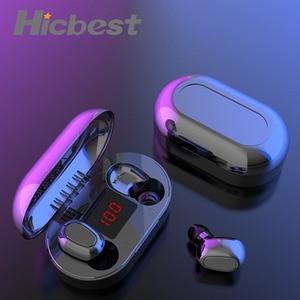 Image 1 - Mini TWS Wireless Earphones Sport HIFI Headphones Noise Cancelling Earbuds Cordless Headset Water Proof Headphone