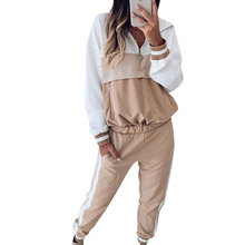 цена на New Sweatsuits for Women Winter Hooded Women's Sports and Leisure Set Two-piece Women Two Piece Outfits Long Sleeve Club Outfits