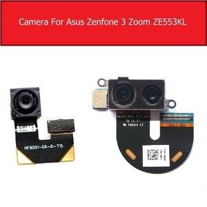 Image 1 - Caméra principale avant et arrière pour ASUS ZenFone 3 Zoom ZE553KL arrière grande petite caméra avec câble flexible pièces de rechange