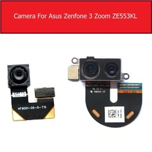 Front & Rear Main Camera For ASUS ZenFone 3 Zoom ZE553KL Back Big Samll Camera With Flex Cable Replacement Parts