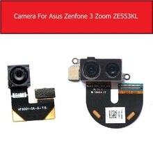 フロント & リアメインカメラasus zenfone 5 3 ズームZE553KLバックビッグsamllのカメラフレックスケーブルの交換部品