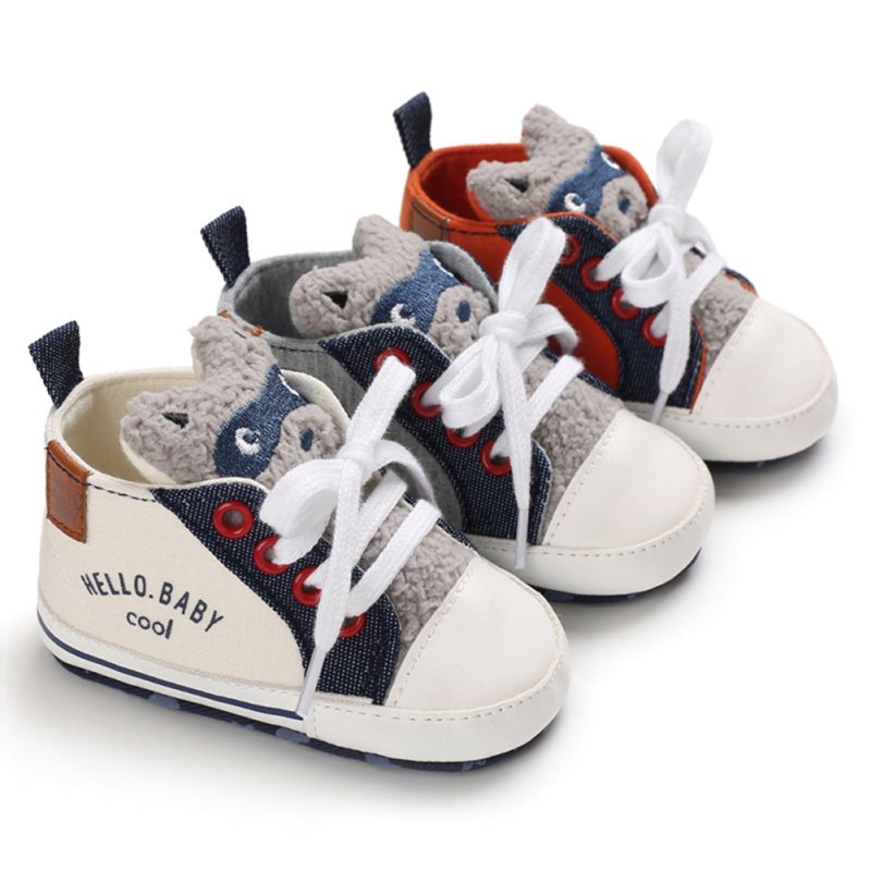 Baby Shoes Newborn Canvas Shoes Classic Sports Sneakers Newborn Baby Boys Girls Infant Toddler Soft Sole  First Walkers