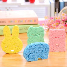 Bathroom Sponge Bath Shower Spa Baby Skin Care Random Color