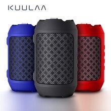KUULAA Bluetooth динамик Портативный беспроводной громкий динамик s для телефона компьютера стерео музыки объемные водонепроницаемые напольные колонки коробка