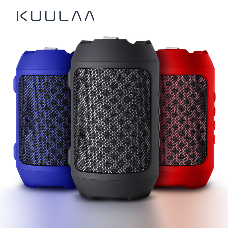 KUULAA Bluetooth Speaker Portable Wireless Loudspeakers For Phone Computer Stereo Music Surround Waterproof Outdoor Speakers Box