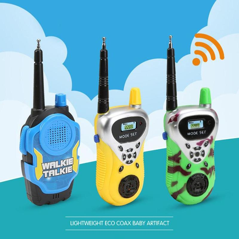 2Pcs Walkie Talkie Toys Remote Call Walkie Pretend To Play House Parent-child Interactive Children Educatianal Toys