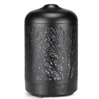 Árvore de metal difusor de óleo essencial aroma umidificador névoa fria umidificador aromaterapia névoa criador para casa