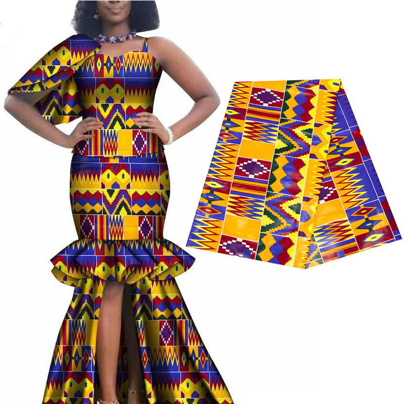 Image 3 - 2019 Royal Wax Batik Prints Africa Fabric 100% Cotton Ankara 