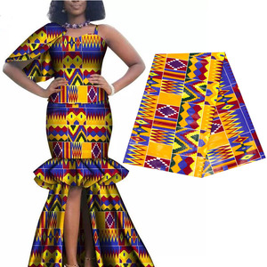 Image 3 - 2020 Royal Wax Batik Prints Africa Fabric Pagne 100% Cotton Ankara Kente Real Wax Tissu Best Quality For Party Dress Handmake