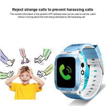 Y21s Smart Positioning Watch for Kids Children GPS Tracker Alarm Waterproof Wristwatch Security Photo + Touch Screen