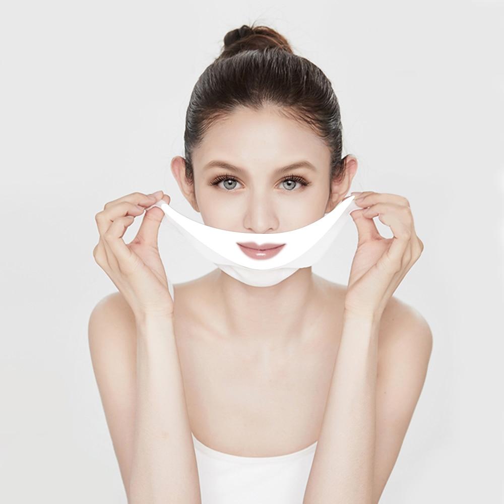 4D V Gezichtsmasker Elimineren Dubbele Kin Oedeem Lifting Verstevigende  Facial Lijn Afslanken V Vorm Rimpel Verminderen Gezichtsverzorging Slanke  masker|Treatments & Masks| - AliExpress