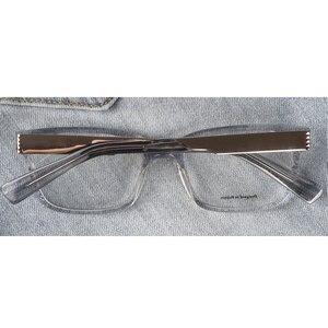 Image 4 - Marcos para gafas con receta rectangulares transparentes de acetato para mujer