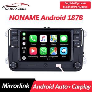 Автомагнитола Noname RCD330 Plus, RCD330G, MIB 6RD 035 187B для VW Golf 5 6 Jetta MK5 MK6 CC Tiguan Passat Polo, Android