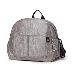 Soboba новый рюкзак для подгузников для мамы водонепроницаемый сплошной большой емкости Многофункциональный Пеленальный мешок для ухода за р...