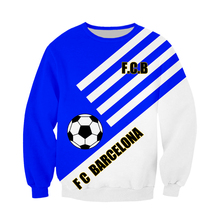 WFK new products for sale Barcelona team sweater mens and womens sweaters cotton spring autumn design