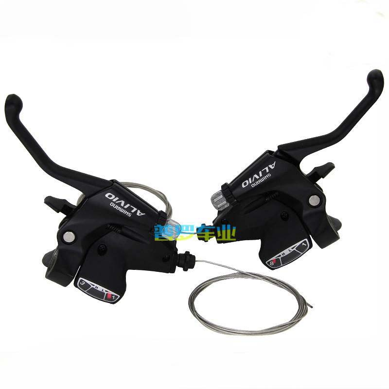 Shimano ST-EF500 3 x 8 Speed V-Brake MTB Bike Bicycle Shift Brake Levers Set 24s