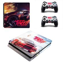 Need for Speed PS4 Slim Sticker Play station 4 Skin Sticker Decals For PlayStation 4 PS4 Slim Console and Controller Skin Vinyl