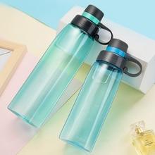 800ml Bpa Free Sports Water Bottle for Drinking Outdoor Travel Portable Leakproof Tritan Plastic Drink Bottle Tour Drinkware цена и фото