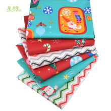 Chainho,6pcs/Lot,Christmas Series,Print Twill Cotton Fabric,Patchwork Cloth For DIY Sewing Quilting Baby&Child Material,40x50cm